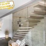 Conception d'escaliers: des matériaux qui s'adaptent au style de décoration de la maison