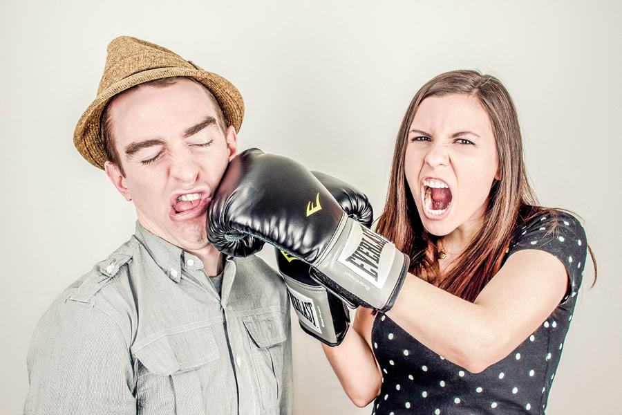 Conflit entre couple