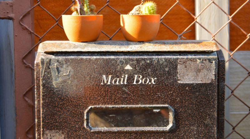 boîte aux lettres originale