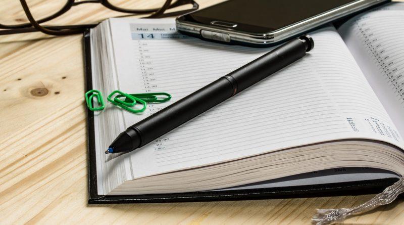 agenda de planification professionnelle