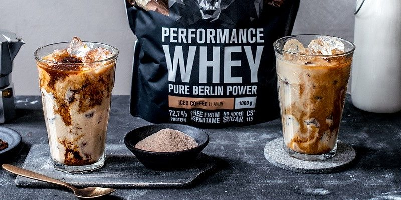 café glacé protéiné