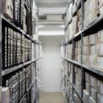 Classement et rangement: le rayonnage archives