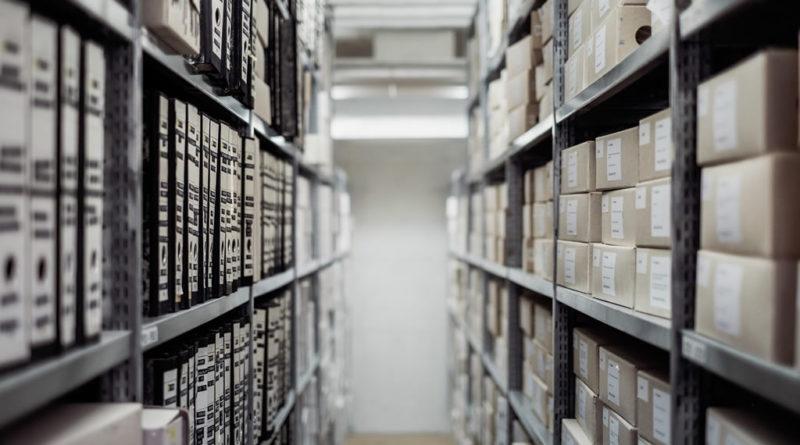 Le classement du rayonnage archives