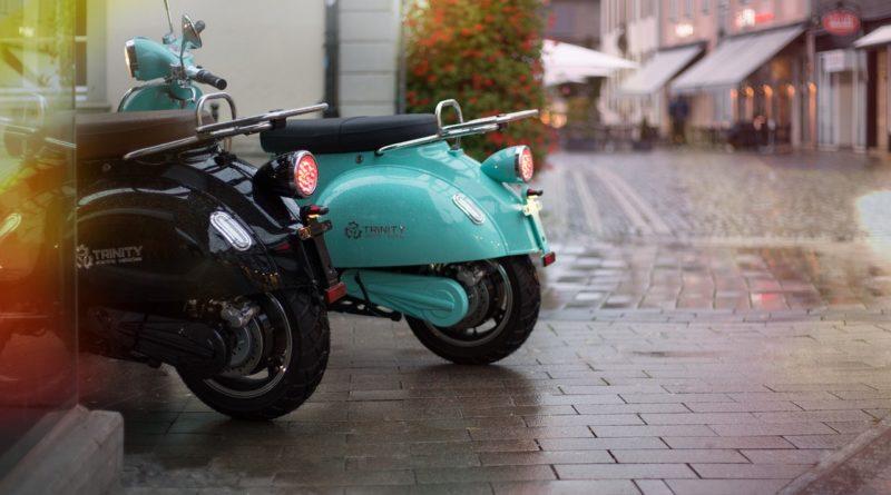 livrer avec un scooter électrique
