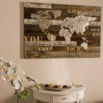 La carte du monde vintage pour décorer vos murs