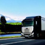 Le transport de camions poids lourd