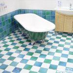 Un plancher chauffant dans la salle de bain, un vrai confort