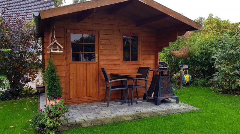Réaliser un abri de jardin stylé