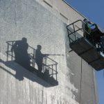 Comment effacer les graffitis sur la façade ?