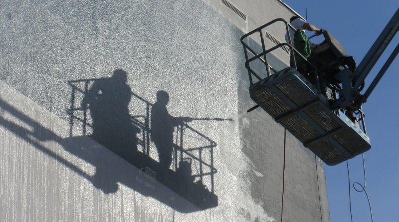 effacer les graffitis sur la façade